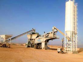 中凯路机YHZS-75水泥混凝土搅拌设备