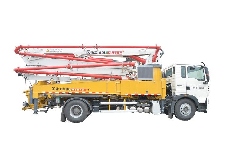 徐工HB34K混凝土泵车高清图 - 外观