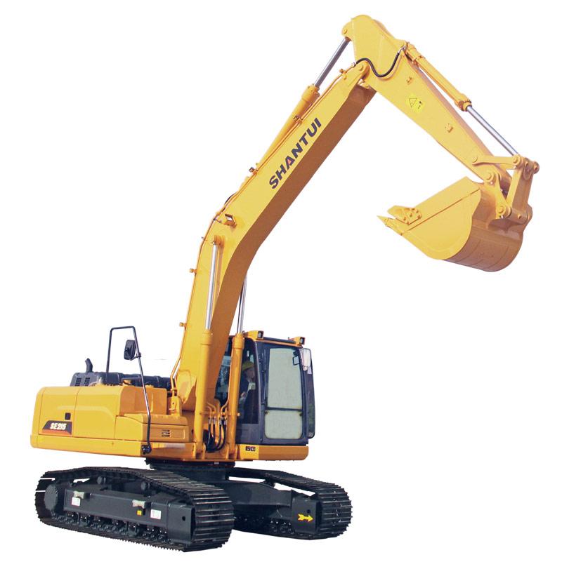山推挖掘机SE215-9A挖掘机高清图 - 外观