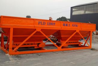 合元建机PLD1200砂石配料机高清图 - 外观