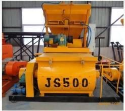 合元建机JS500混凝土搅拌机高清图 - 外观