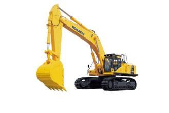小松PC650LC-8EO(SE)履带式液压挖掘机高清图 - 外观