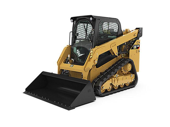 卡特彼勒CAT®249D紧凑型履带式装载机