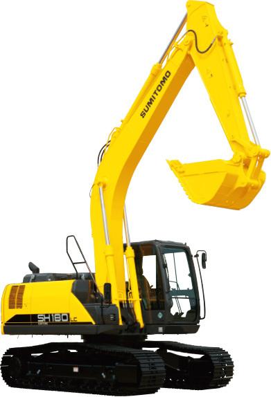 【720°全景展示】住友SH180LC挖掘機