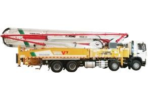 徐工HB58K(重汽)混凝土泵车高清图 - 外观