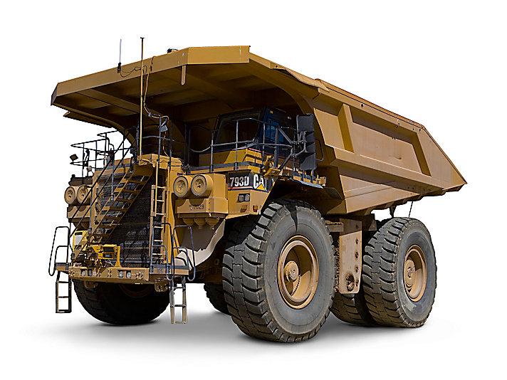 卡特彼勒793D矿用卡车高清图 - 外观