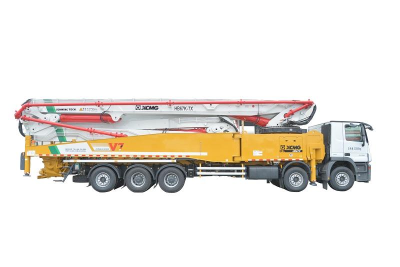 徐工HB67K混凝土泵车高清图 - 外观