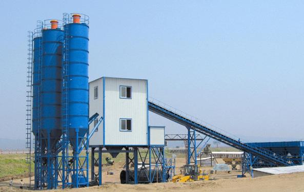 合元建机HZS60混凝土搅拌站