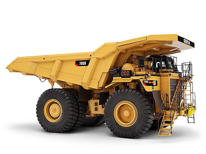 卡特彼勒785D矿用卡车高清图 - 外观