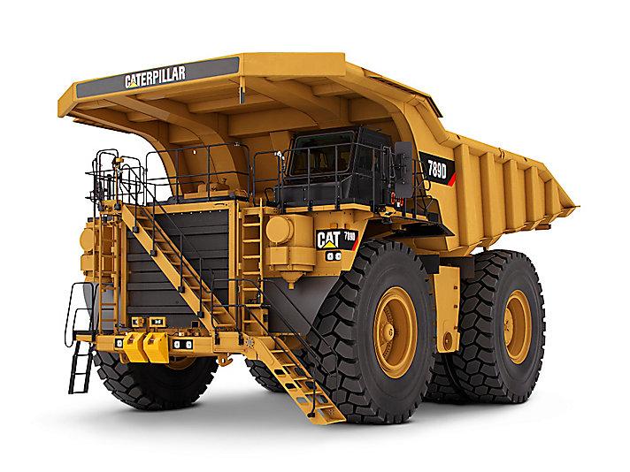卡特彼勒789D矿用卡车高清图 - 外观