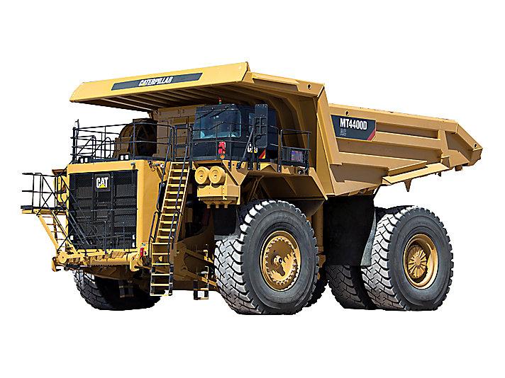 卡特彼勒MT4400D AC交流电动卡车高清图 - 外观