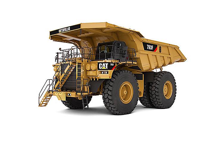 卡特彼勒793F矿用卡车高清图 - 外观