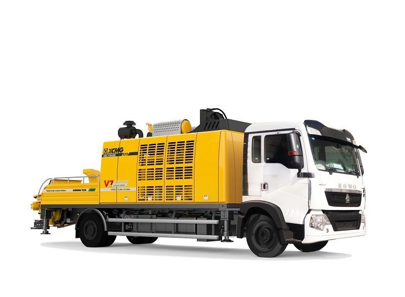 徐工HBC10040K车载泵高清图 - 外观