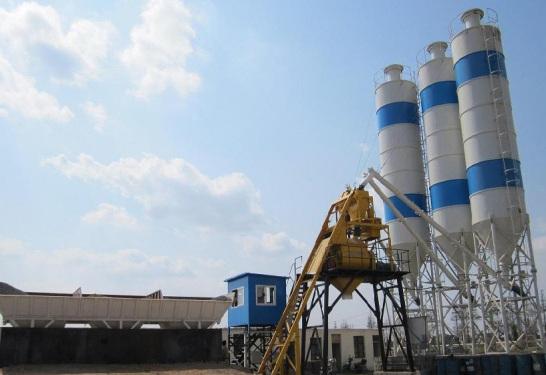 合元建机HZS75混凝土搅拌站
