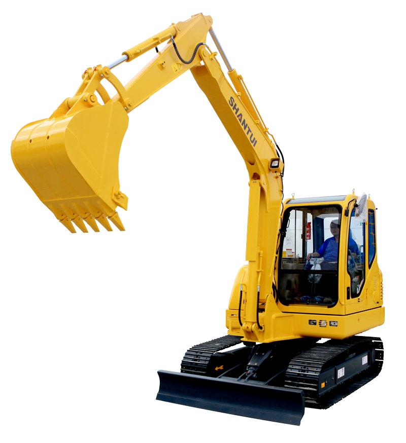 山推挖掘机SE60-9A(国产化配置版)挖掘机高清图 - 外观