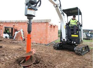 山猫E17小型挖掘机高清图 - 外观
