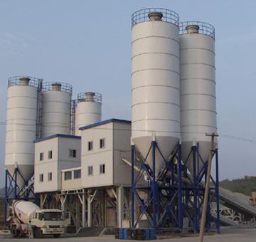 合元建机HZS240混凝土搅拌站