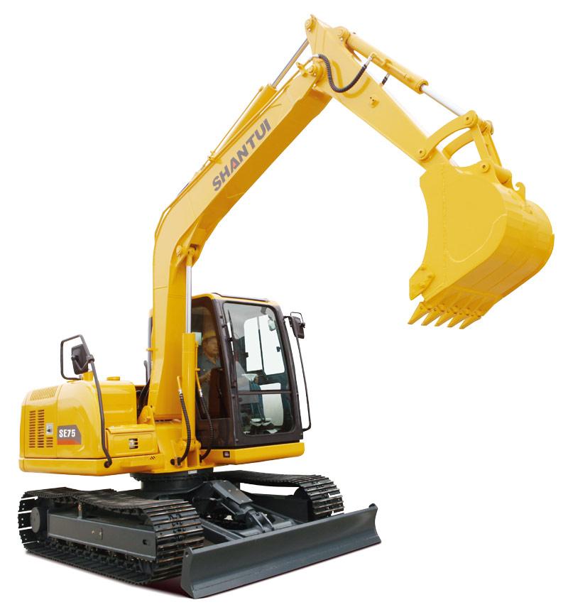 山推挖掘机SE75-9挖掘机高清图 - 外观