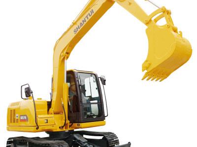 【720°全景展示】山推SE75挖掘机