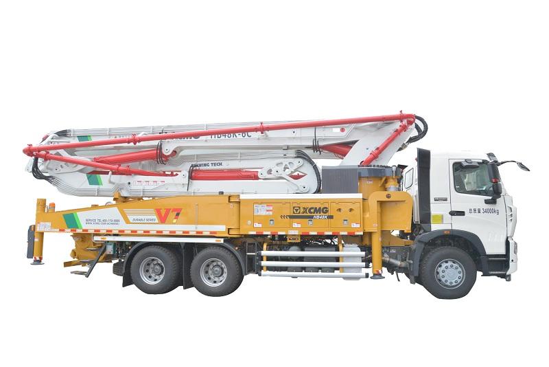 徐工HB48K(重汽)混凝土泵车高清图 - 外观