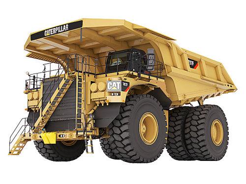 卡特彼勒797F矿用卡车