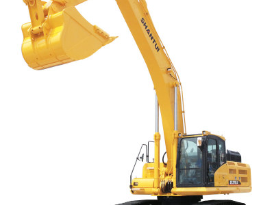 【720°全景展示】山推SE370LC挖掘機