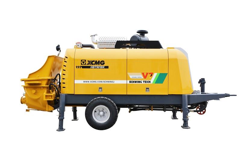 徐工HBT9018K拖泵高清图 - 外观