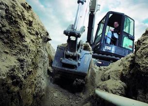 山猫E50小型挖掘机高清图 - 外观