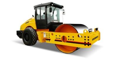 国机洛建GYS22单钢轮振动压路机高清图 - 外观