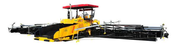 中大机械DT2000抗离析多功能超强劲摊铺机