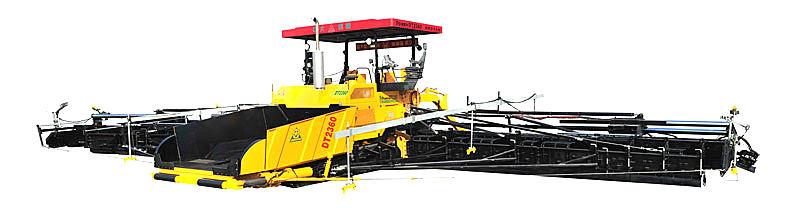 中大機械DT2000抗離析多功能超強勁攤鋪機