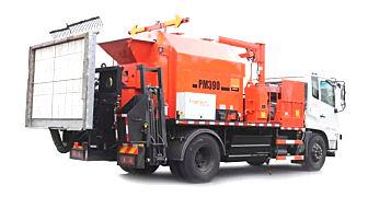 英达科技PM390沥青路面修补车