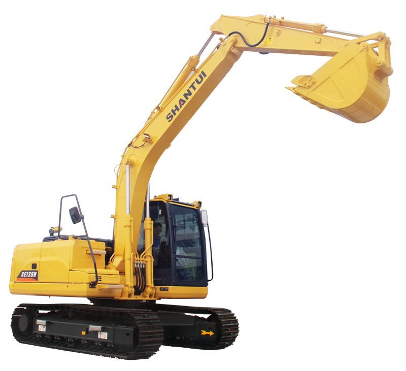 山推挖掘机SE135-9W挖掘机高清图 - 外观