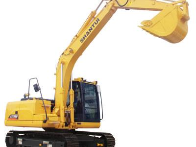 【720°全景展示】山推SE135W挖掘机