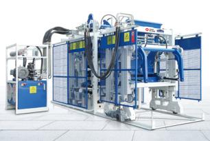 泉工ZN600C全自动水泥制砖机