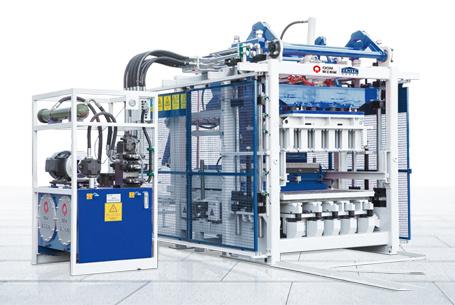 泉工ZN1000C全自动免烧砖机设备