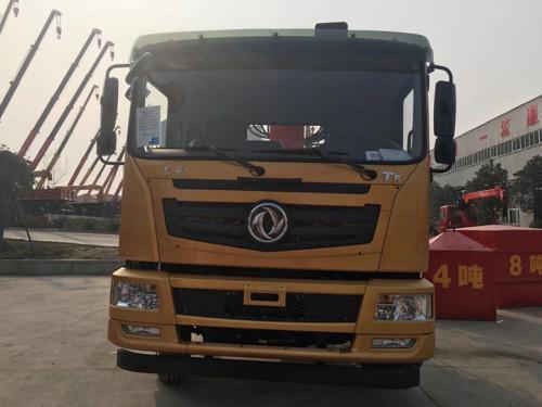 程力EQ1168GLJ4东风T5单桥8吨徐工随车吊