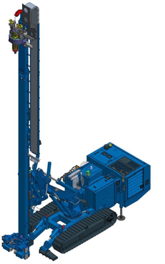 土力机械SM-22锚杆钻机高清图 - 外观