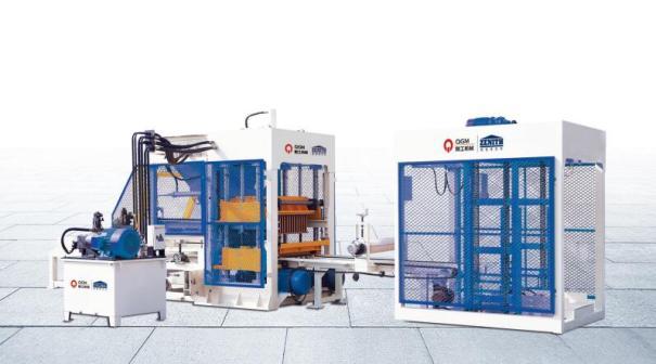 泉工QT8全自动砌块成型机