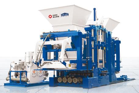 泉工ZN1200C全自动植草砖护坡砖机设备