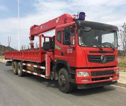 程力EQ1250GLJ东风T5后八轮12吨徐工随车吊