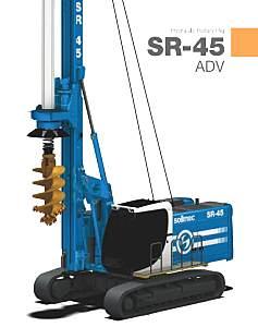 土力機械SR45旋挖鉆機
