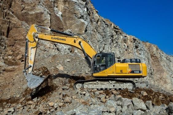 柳工CLG936E挖掘机