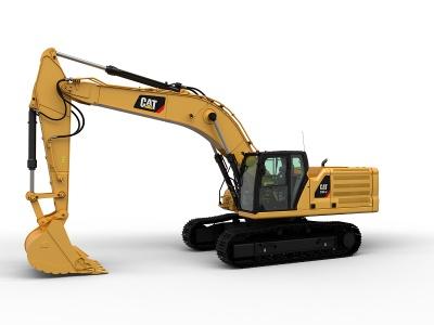 【720°全景展示】新一代Cat?(卡特)336 GC大型挖掘机