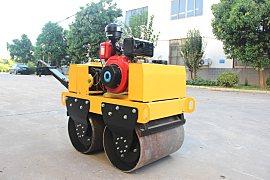 宜迅YX-50手扶式双钢轮压路机