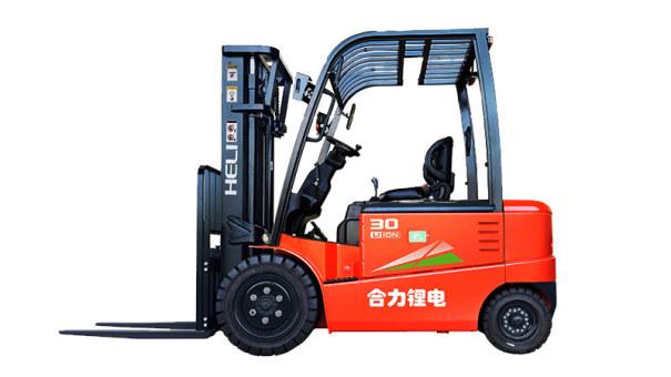 安徽合力G系列 3-3.5吨锂电池平衡重式叉车