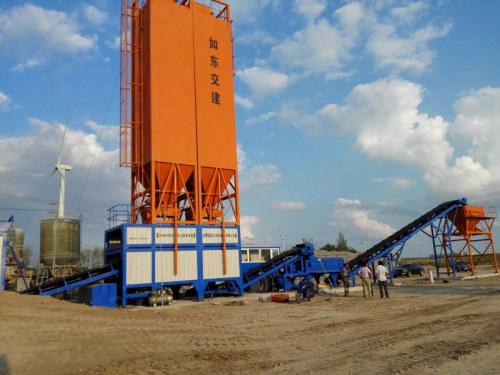 镇江阿伦WBS800稳定土厂拌设备