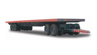 安徽合力1-80吨平板拖车