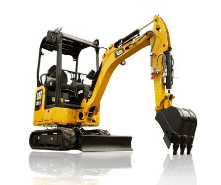 卡特彼勒新一代Cat®301.5迷你型挖掘机