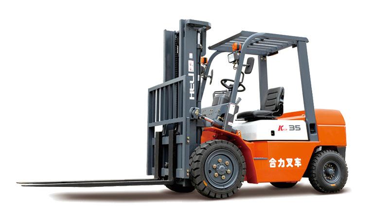 安徽合力K系列 2-3.5t内燃平衡重式叉车高清图 - 外观